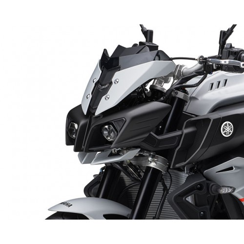 Aggressive Front Mask with Dual LED Headlights