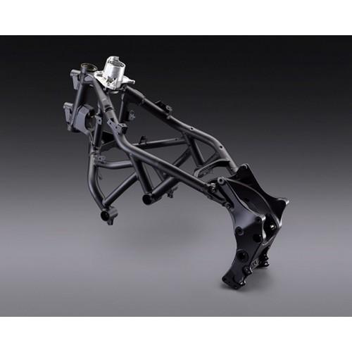 Hybrid steel and aluminium frame
