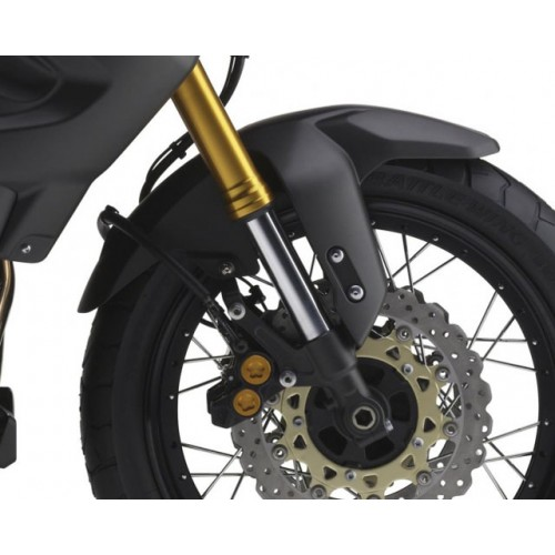 Electronically adjustable suspension