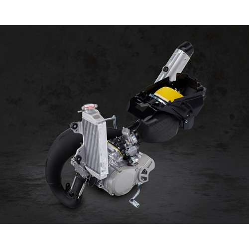 All new 2-stroke engine