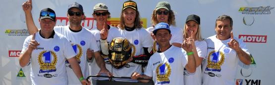 Toparis Secures Maiden Supersport Championship