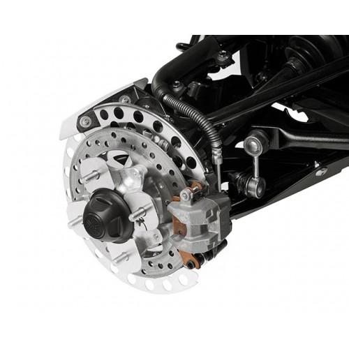 Four-Wheel Hydraulic Disc Brakes