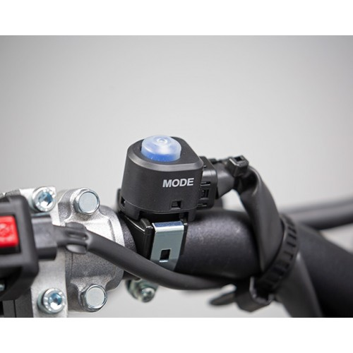 Handlebar-mounted map switch