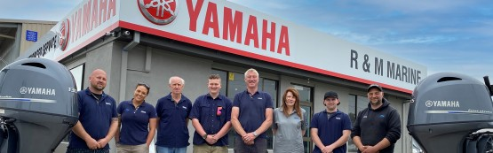Yamaha Welcomes R & M Marine Services