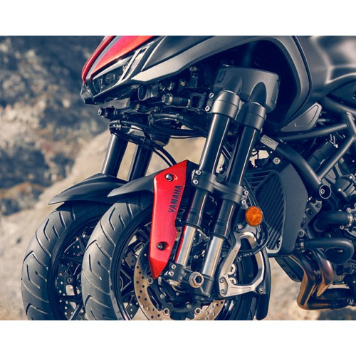 Double external upside-down front forks