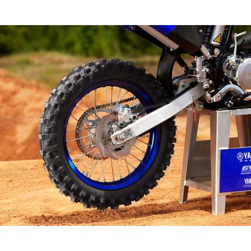 New rear brake system